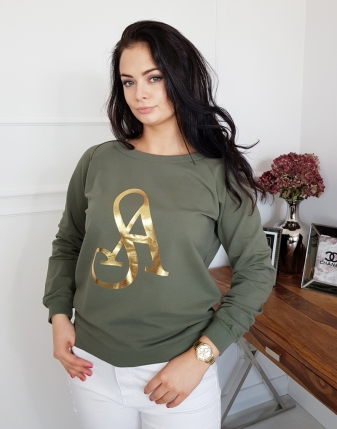 bluza khaki