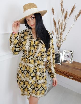 sukienka snake lamaja butik