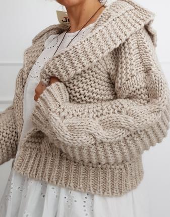 sweter z alpaki