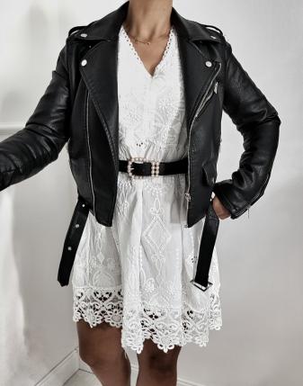 sukienka ażurowa