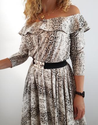 długa sukienka jasna