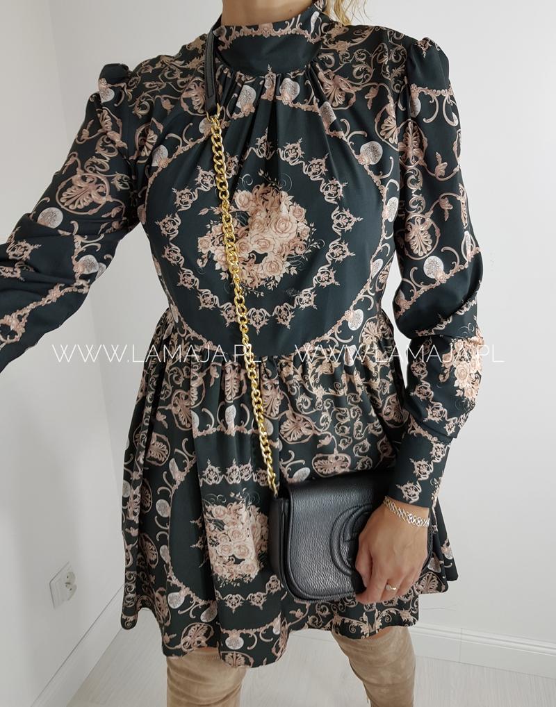 sukienka wzór loci