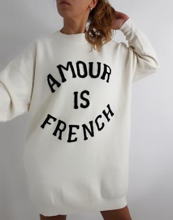 sweter długi amour