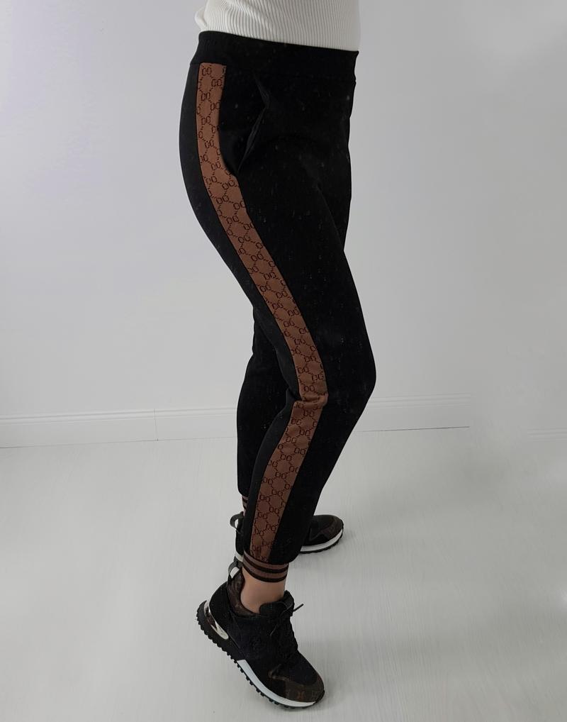 spodnie z lampasem gucci