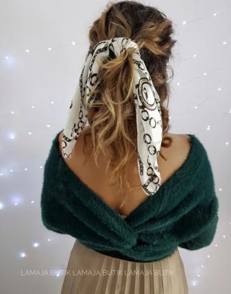 sweter moher zielony