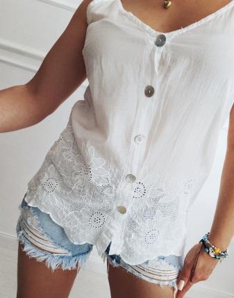 bluzka haftowana na lato