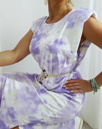 sukienka maxi batik