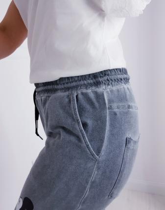 dresowe spodnie z myszką