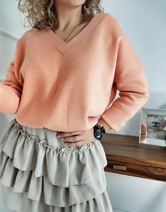 sweterek łososiowy