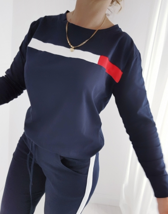 dres granatowy tommy
