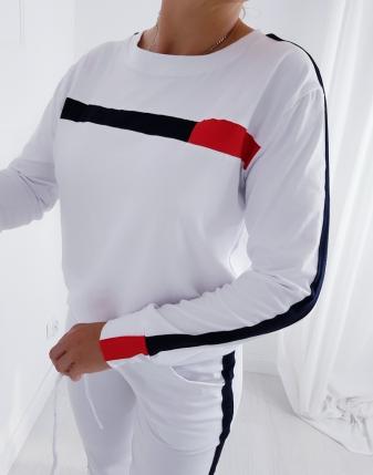 biały dres tommy